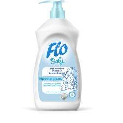 Płyn do mycia smoczków, butelek i naczyń Flo Baby 500 ml