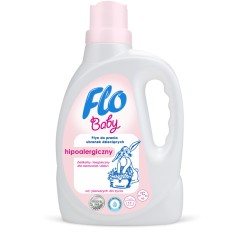 Płyn prania ubranek dziecięcych Flo Baby 1L.