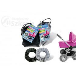 Ochraniacze na koła wózka dziecięcego