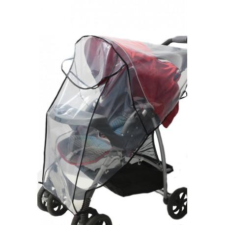 Folia przeciwdeszczowa na wózek spacerówkę