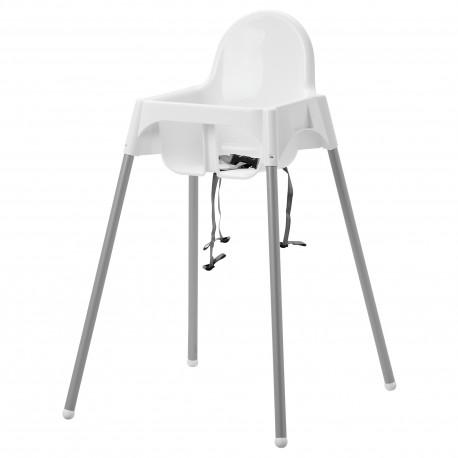 Krzesełko do karmienia z szelkami
