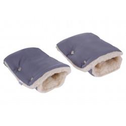 Mufki, rękawiczki do wózka wełniane